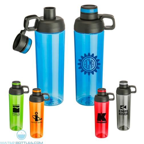 Personalized Logo Water Bottles - 30 oz Zuma Double Opening Tritan Water Bottle