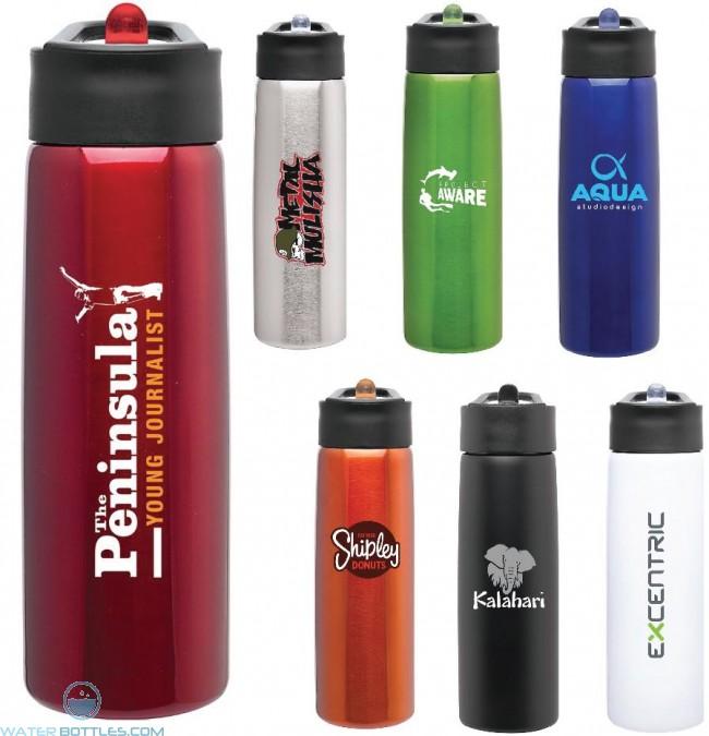 6aa35b17a174 H2Go Hydra Customized Water Bottles   24 oz