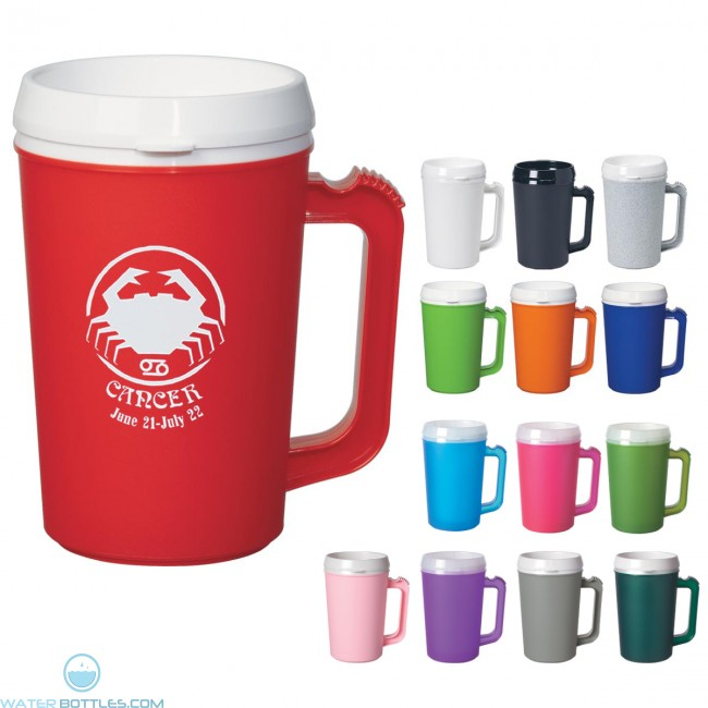 Custom Logo Mugs Thermo Insulated Mug 22 Oz