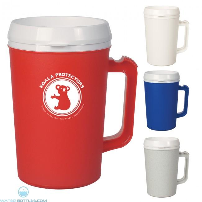 thermo insulated mug 34 oz beer custom coffee mugs
