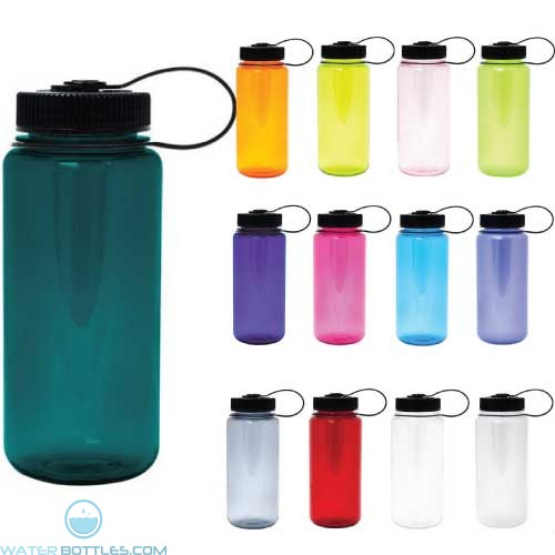 Nalgene Tritan Wide Mouth Water Bottle 16 Oz Custom