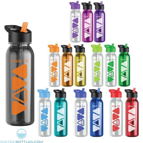 The Outdoorsman - 24 oz  Tritan Water Bottles -Flip Strw Lid