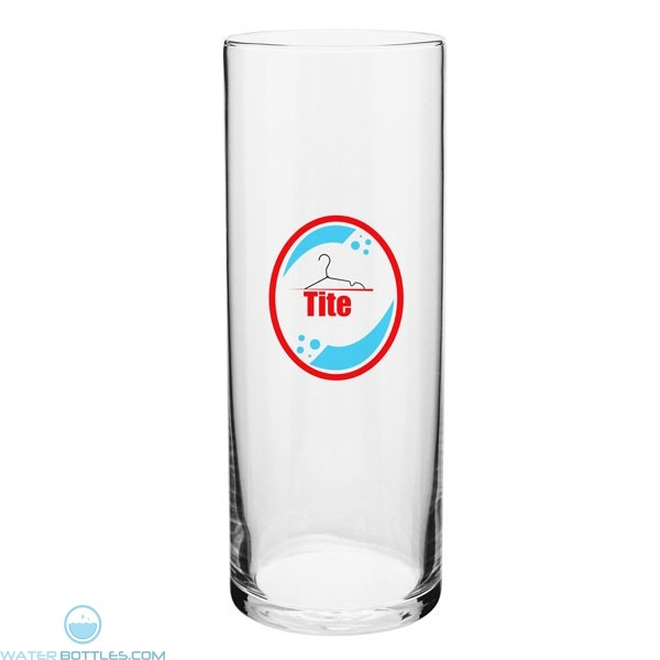 Barber Pole Glass Vase 9 Personalized Glass Mugs