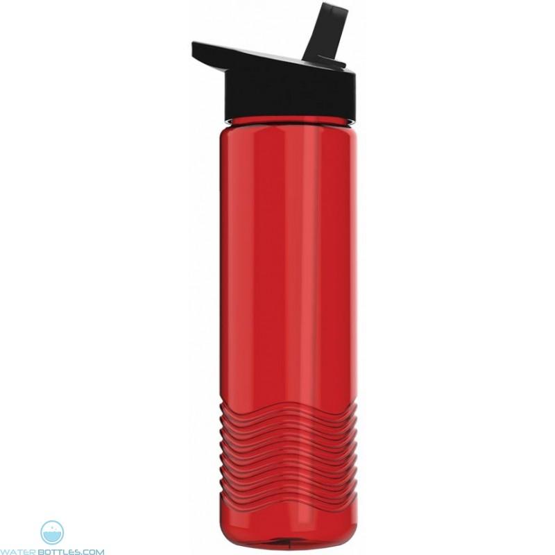 ff4e867304 24 oz Wave Tritan Bottle with Flip Straw | Custom Water Bottles