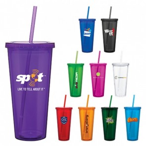 Custom Spirit Tumblers Double Wall Acrylic Tumbler 20 Oz