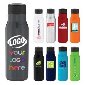 25 Oz H2go Tread Stainless Bottle