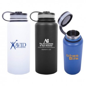 27bb715f3e8 Personalized Water Bottles - 32 oz Hydro-Soul Vacuum Insulated Water Bottle