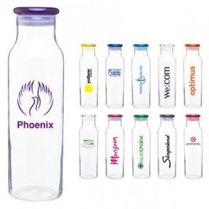 Personalized Glass Water Bottles For Classy Promotions