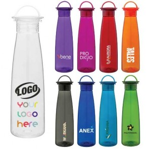 Custom hard plastic bottles for your company freebies, giveaways